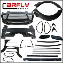 Carbon mix fiberglass bodykits for Porsche Cayenne958 lumm*