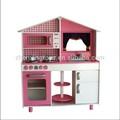 2015 nuevo diseño superior de los niños la calidad de la cocina de madera de juguete, los niños juegan set de cocina