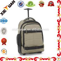 15 inch 1680D custom trolley pilot laptop bag for business travel