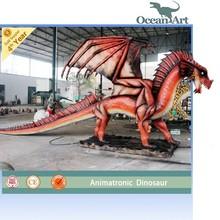Theme Park Attraction Animatronic Dragon