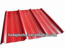 colorful coated and galvanized steel roofing sheet