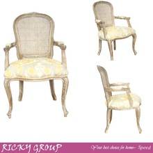 louis white wooden chair,make up white wooden chair,new design white wooden chair