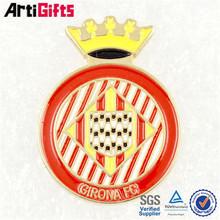 High end metal masonic railway custom badge shield