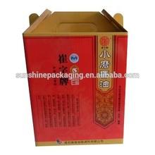 Corrugated gable box
