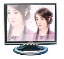 TFT 14.3 LCD MONITOR / wall mounting flat screen 14 inch lcd monitor with USB input