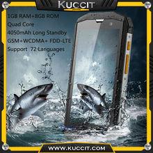 Original 5S Qualcomm Quad Core 5.0'' IPS Android 4.4 ip67 Rugged waterproof phone 1GB RAM 3G WCDMA 4G FDD-LTE A9 M8 single SIM