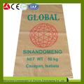 Nouvelle conception populaire en polypropylène tissé 50kg, sacs de ciment blanc