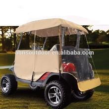 Golf Club Cart Waterproof Enclosure Rain Cover
