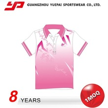 Hot Quality Nice Design Elastic Colorful Polo Shirt Designs