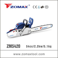 power hacksaw 2.2kw ZM5420 zomax chain saw spare parts to automatic chinese vespa