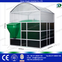 4m3 home Biogas Plant with High-efficiency