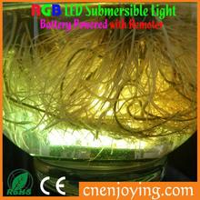 Mini Led Centerpiece Light, 10 Leds Submersible Led Light Color Changing