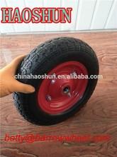 PU wheel , wheelbarrow Solid wheel 3.50-7