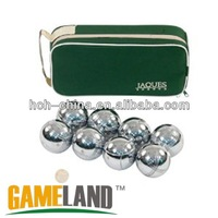 Garden Game 8 Metal Ball Petanque Boules Set Bocce ball