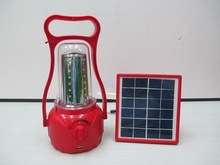 YMC-SL05 Portable rechargeable multi-function home solar lanterns solar lantern led light with mobile phone charger