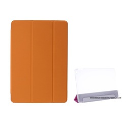 Magnetic Standard Front Smart Cover For iPad 2/3/4+Back Transparent Case For iPad, Front Cover for iPad