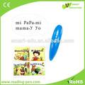 Lingua spagnola bambino libro con l'apprendimento automatica libro penna ottica