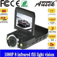 CE ROHS 1080p car black box k5000 car dvr support OEM from factory manual car camera dvr full hd