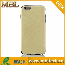 Fast Delivery Bling Bling Cell Phone Case For iphone 6 Gold Housing Manufacturer From China