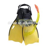 Children Diving set 3 in 1(Mask,snorkel,fin set)M4208+SN23+F51