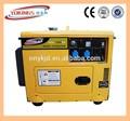 6KW/KVA generadores diesel, generadores diesel 5,5 KW/KVA