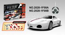Newly RC Nissan toy assemble blocks car model