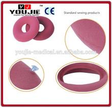 Inflatable air bladder round cushion