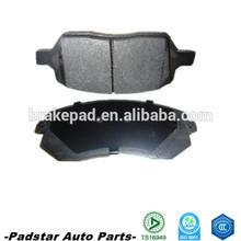 brake pad factory TS16949 top quality ceramic formula car brake pad with sensor 001 420 95 20 RR W202/W124/W210