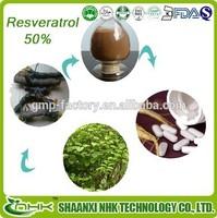 free sample water soluble resveratrol/ japanese knotweed resveratrol/ resveratrol 50%
