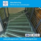 Laminated glass stairs steps
