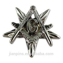 Factory custom masonic lapel pin