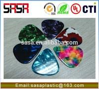 tortoise color celluloid sheet for guitar picks