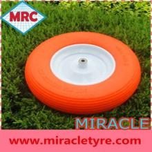 "10"" China wholesale pu foam wheel 3.50-4 plastic wheels for sand"