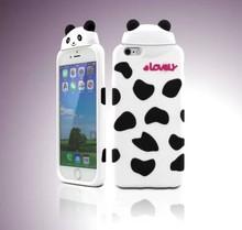 2015 3D funny bear carton Silicon Case for iphone 5 5s
