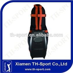 oem durable hard case golf travel bag
