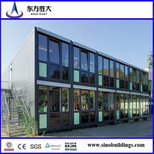 Promotion!!!low cost price!pre-made container house for hotel,coffe house/sandwich panel/manufacturer