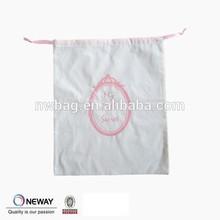 2015 China christmas drawstring gift bags,organic cotton drawstring bags,cotton muslin drawstring pouch