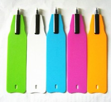 New Fancy Advertising Plastic Promotion Flat Pen