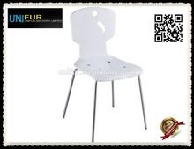 Non-foldable cute ergonomic chair for children