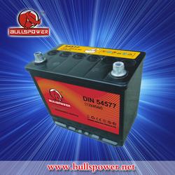 DIN Car Battery DIN54577 super power car battery MF auto car battery