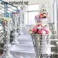 De plástico de la boda pilares y columnas para la venta, decoración de la boda pilares para la venta. Pilares de plástico columnas( ms- 218)
