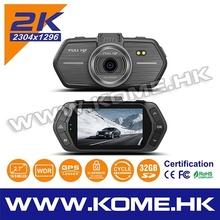 hot kome dash cam 1080p black hidden taxi camera dvr night vision car kit drive video recorder gps tracker with camera new 2015