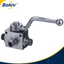 Full port, Female x Male, Brass ball water valve