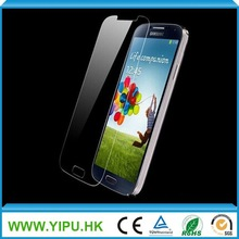 cheapest price anti-fingerprint tempered glass screen protector for samsung galaxy s4
