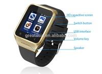 3G WCDMA Smart Android Watch Phone S8/WIFI GPS Music Video Alarm Calculator Calendar E-Mail / Bluetooth 4.0