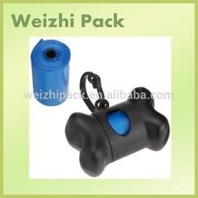 Bone shape dog bag dispenser,dog waste bag holder,dog bag for poop