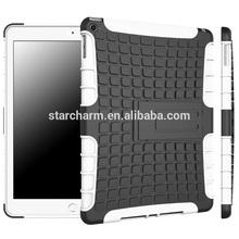 alibaba express functional for iPad 6 TPU+TPU dual case