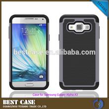 For Samsung Galaxy Alpha A3 Case, PC Silicone Case For Galaxy A3000