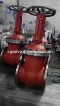 HIGH PRESSURE CAST STEEL RISING STEM GATE VALVE