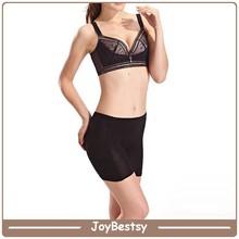 Suavizado undershapers& conformación boyshort negro las mujeres ropa interior sin costuras panty